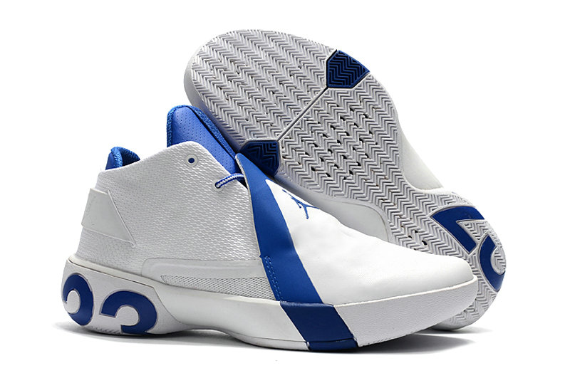 Cheap Nike Air Jordan Ultra Fly 3 White Royal Blue