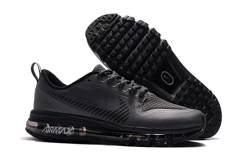 Cheap Nike Air Max 2020 Triple Black On VaporMaxRunning
