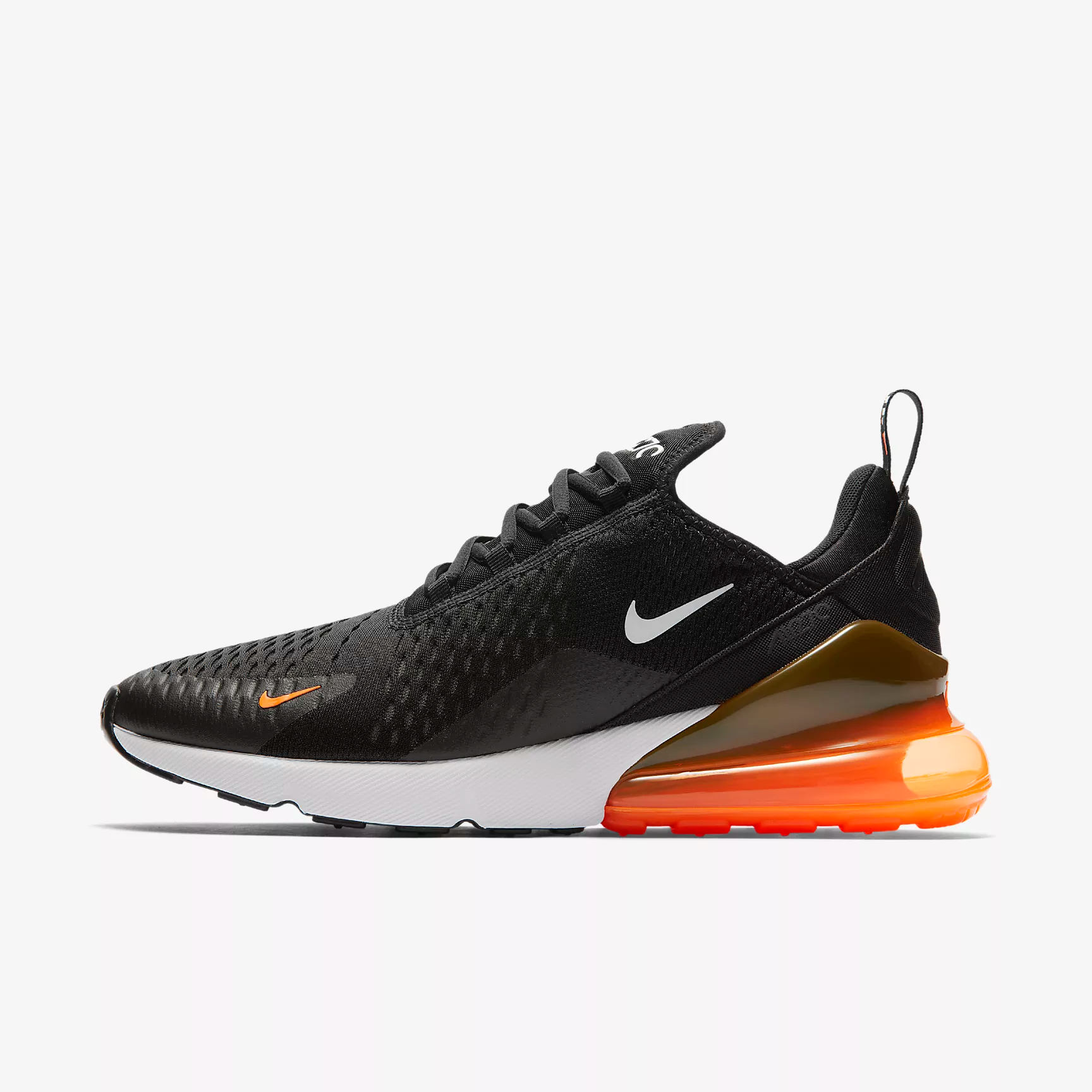 best authentic 3f6dd 2944e Cheap Nike Air Max 270 Fashion Sneakers Orange Red Black White On  VaporMaxRunning