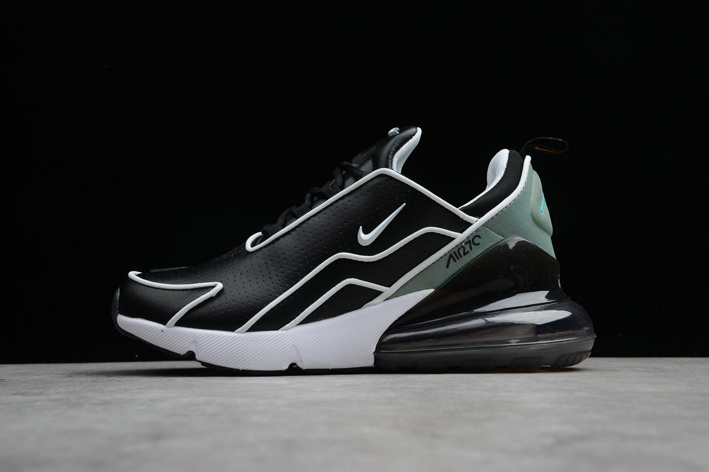 Cheap Nike Air Max 270 Flyknit AH8060-001 Black Charcoal Noir Charbon