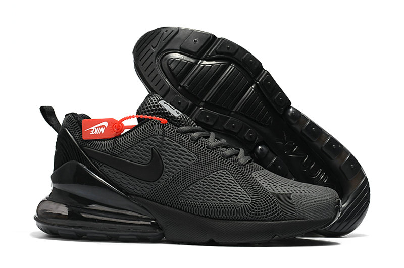 Cheap Nike Air Max 270 Running Shoes Rubber Label All Black