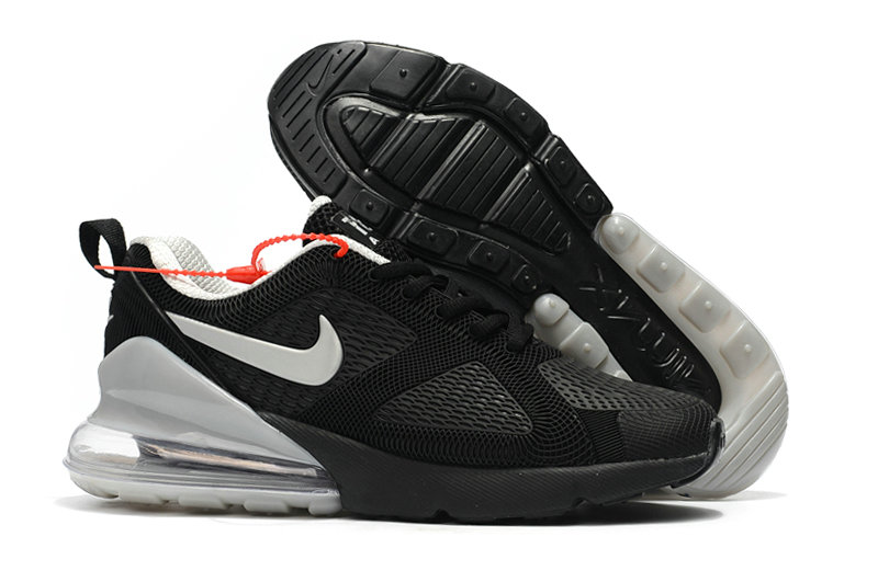 Cheap Nike Air Max 270 Running Shoes Rubber Label Cool Grey Black