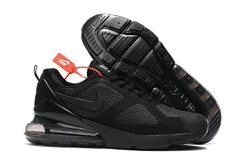Cheap Nike Air Max 270 Running Shoes Rubber Label Triple Black