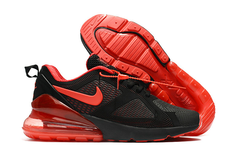 Cheap Nike Air Max 270 Running Shoes Rubber Label University Red Black