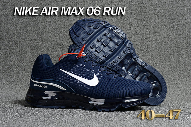 Cheap Nike Air Max 360 Running Navy Blue White On VaporMaxRunning