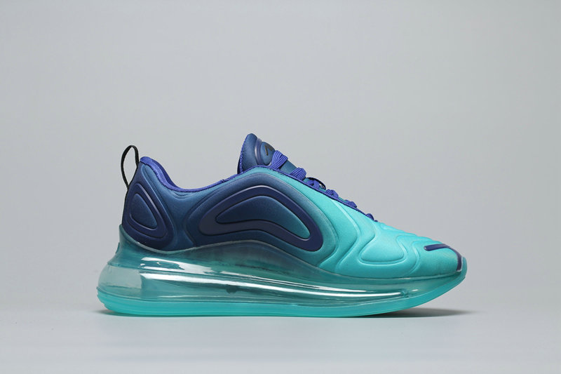 Cheap Nike Air Max 720 Mint Green Gradual Blue Peppermint Green A02924-700 On VaporMaxRunning