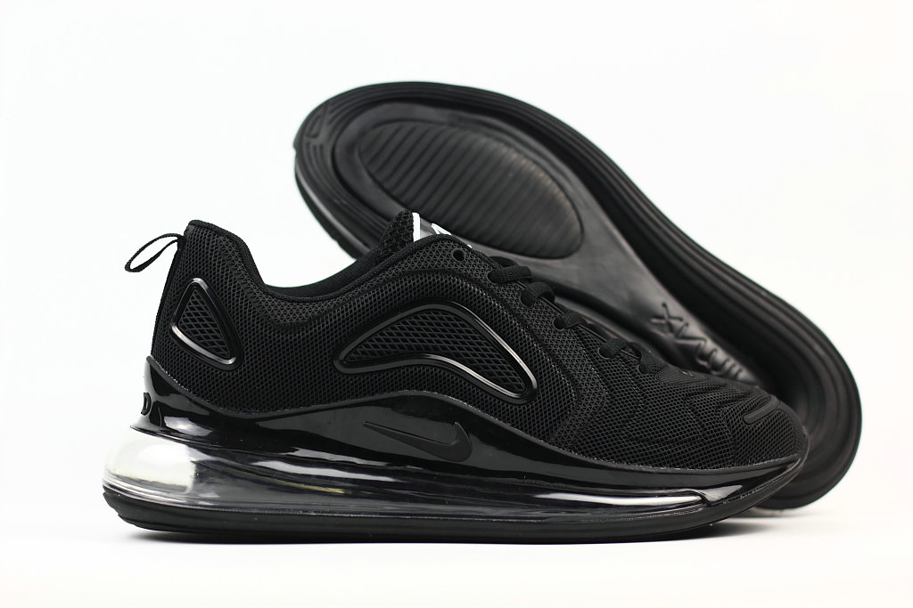 Cheap Nike Air Max 720 Rubber Patch All Black