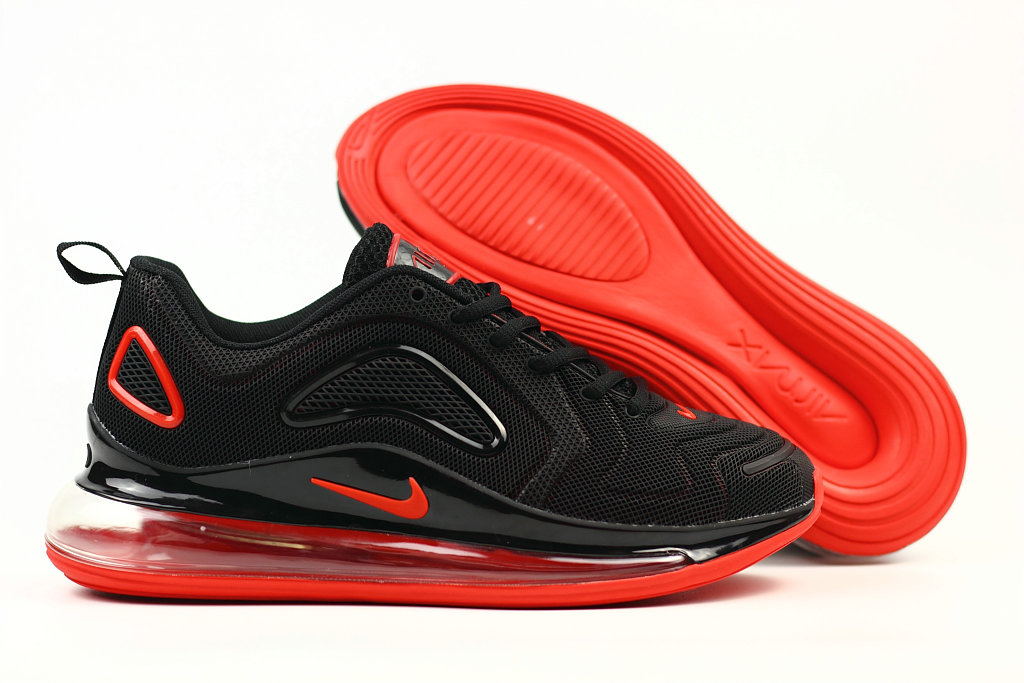 Cheap Nike Air Max 720 Rubber Patch Fire Red Black