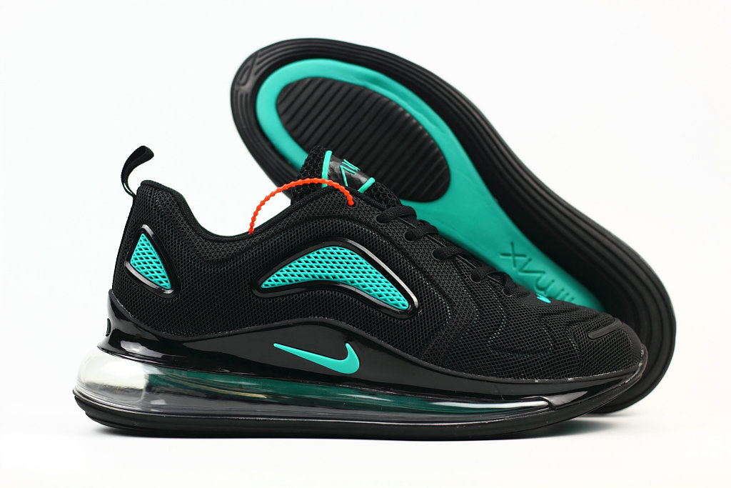 Cheap Nike Air Max 720 Rubber Patch Jet Black