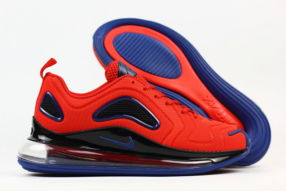 Cheap Nike Air Max 720 Rubber Patch Red Black Blue
