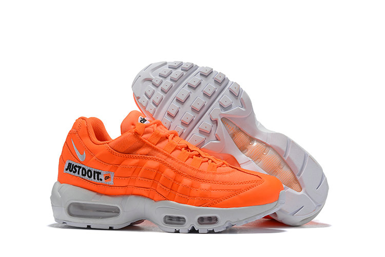 Cheap Nike Air Max 95 Running Shoes Just Do It Orange