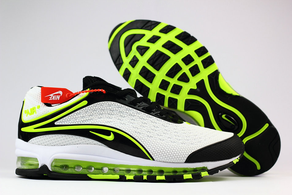 Cheap Nike Air Max Deluxe 2019 Fluorescent Green White Black Running Shoes