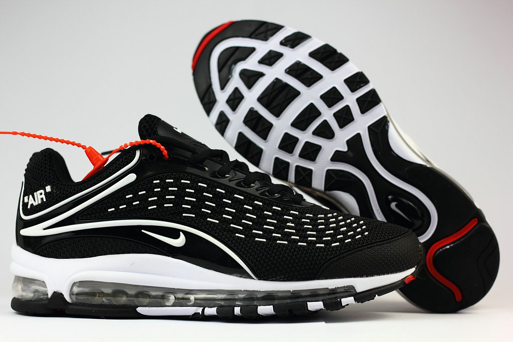 Cheap Nike Air Max Deluxe 2019 White Black Running Shoes