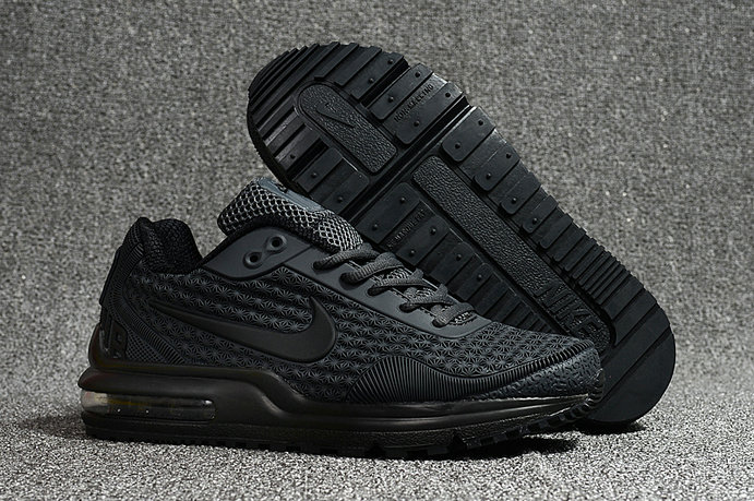 Cheap Nike Air Max LTD Triple Black Running Shoes