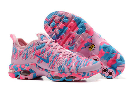 Cheap Nike Air Max TN Plus CAMO Womens Pink Blue On VaporMaxRunning