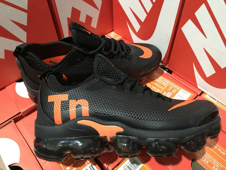 Cheap Nike Air Max TN Plus VaporMax Black Orange