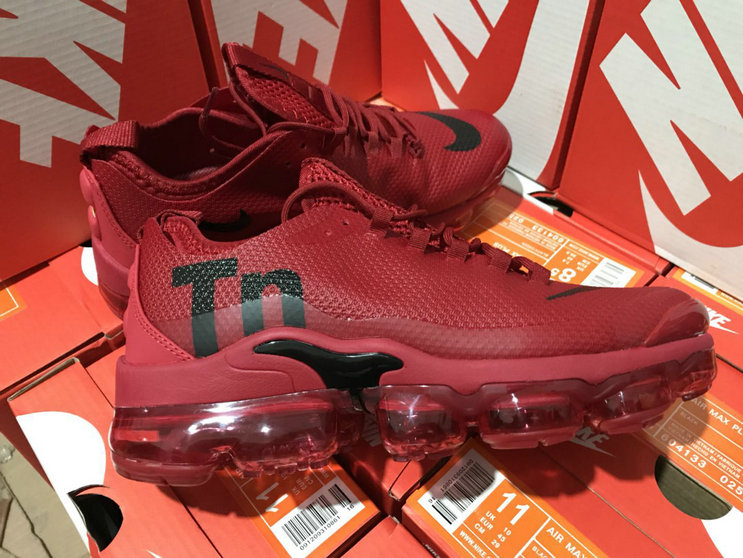 Cheap Nike Air Max TN Plus VaporMax Wine Red Black