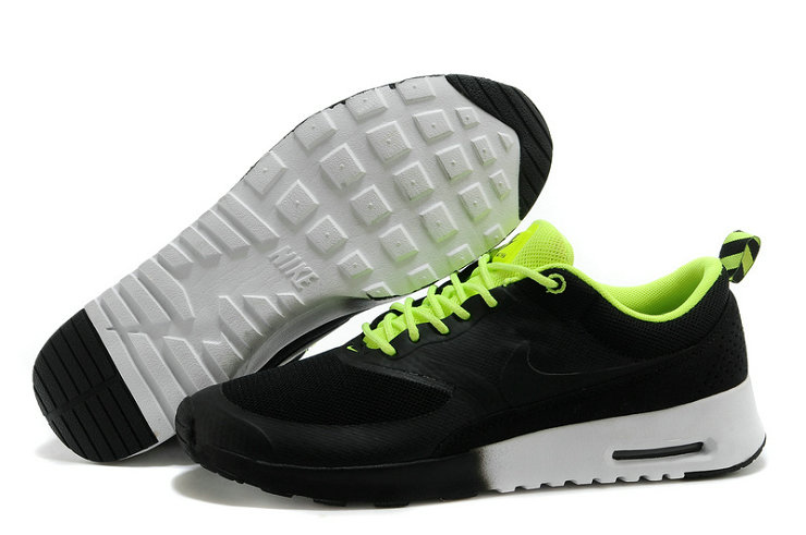 Cheap Nike Air Max Thea Black Green On VaporMaxRunning
