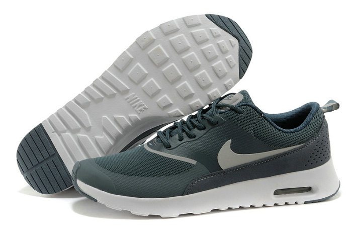 Cheap Nike Air Max Thea Grey Blue White On VaporMaxRunning