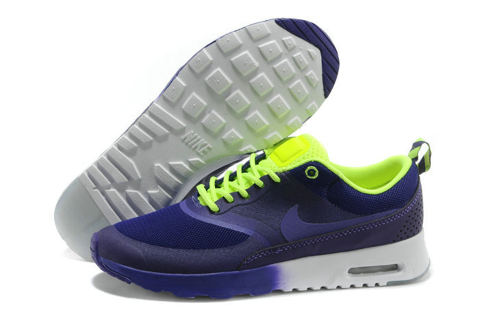 Cheap Nike Air Max Thea Purple Blue Green On VaporMaxRunning