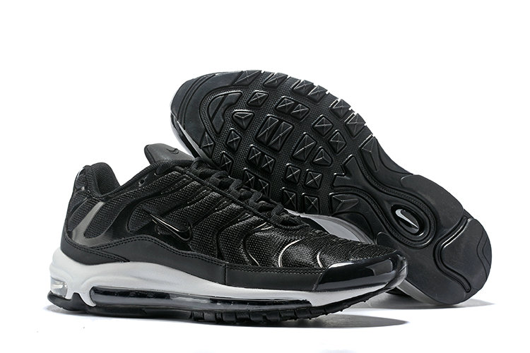 Cheap Nike Air Max Tn x Air Max 97 Mens Black White On VaporMaxRunning