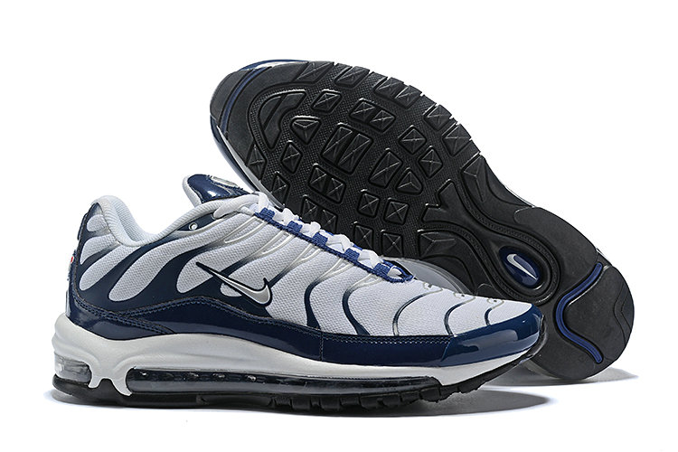 Cheap Nike Air Max Tn x Air Max 97 Mens Navy Blue White Black On VaporMaxRunning