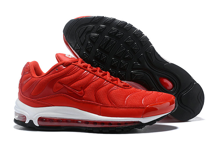 Cheap Nike Air Max Tn x Air Max 97 Mens Red White Black On VaporMaxRunning
