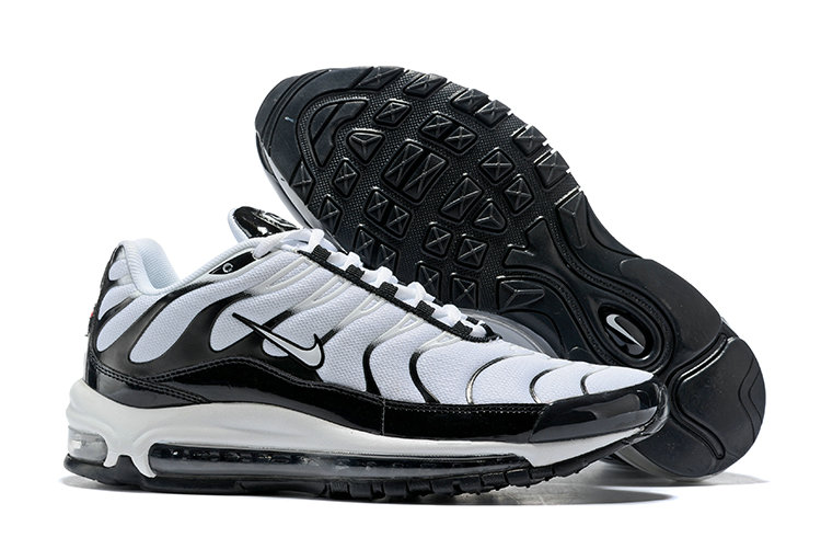 Cheap Nike Air Max Tn x Air Max 97 Mens White Black On VaporMaxRunning