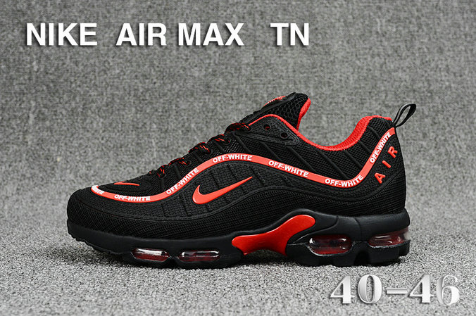 Cheap Nike Air Maxs TN OG Black Red 2019 New Arrival On VaporMaxRunning