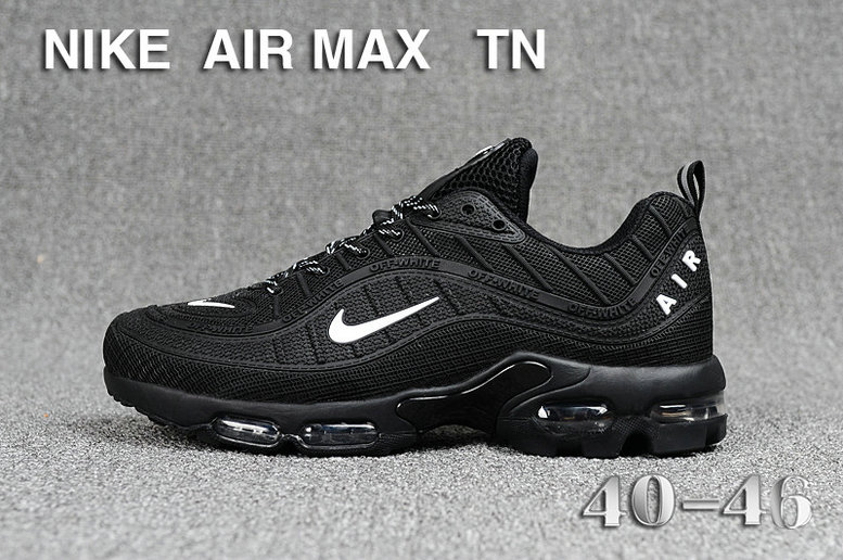 Cheap Nike Air Maxs TN OG Black White 2019 New Arrival On VaporMaxRunning