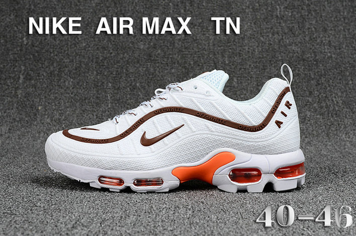 Cheap Nike Air Maxs TN OG Brown White Orange 2019 New Arrival On VaporMaxRunning
