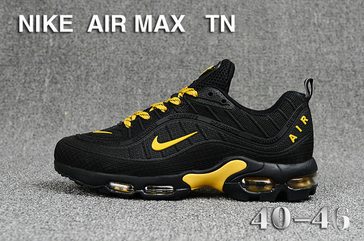 Cheap Nike Air Maxs TN OG Gold Black 2019 New Arrival On VaporMaxRunning