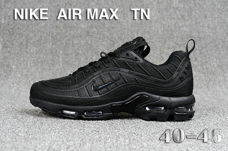 Cheap Nike Air Maxs TN OG Triple Black 2019 New Arrival On VaporMaxRunning