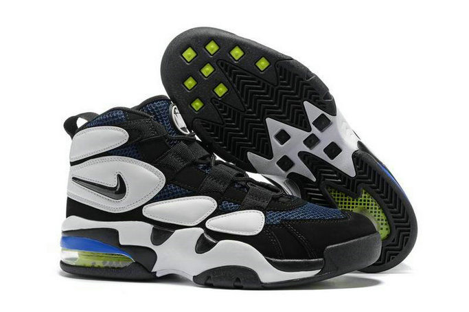 Cheap Nike Air More Uptempo 2 Whte Black Blue Green On VaporMaxRunning