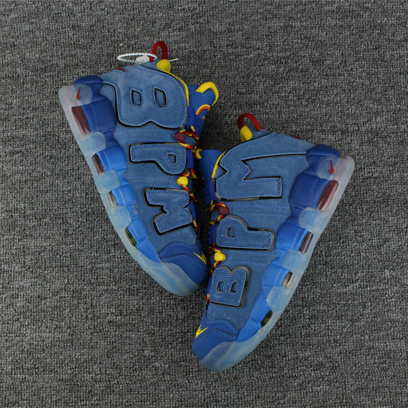 Cheap Nike Air More Uptempo Colorway FreeStyle Royal Blue On VaporMaxRunning