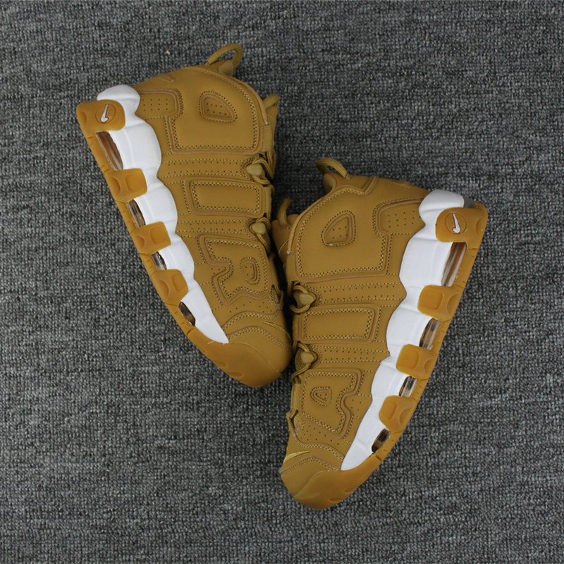 Cheap Nike Air More Uptempo Colorway Wheat White On VaporMaxRunning