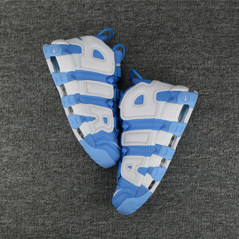 Cheap Nike Air More Uptempo Colorway White Light Blue On VaporMaxRunning