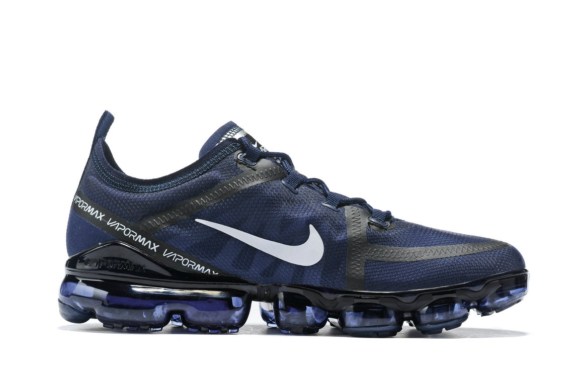 Cheap Nike Air VaporMax 2019 Premium Royal Black White On VaporMaxRunning