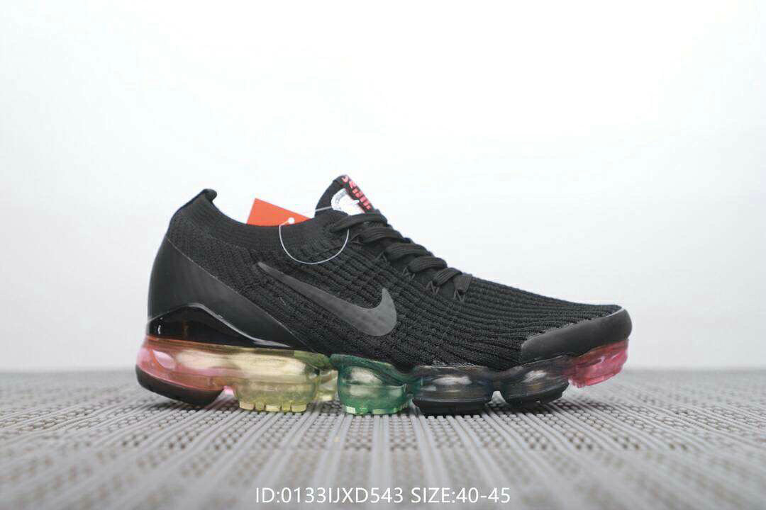 Cheap Nike Air VaporMax 3.0 Black Colorful AJ6900-212 On VaporMaxRunning