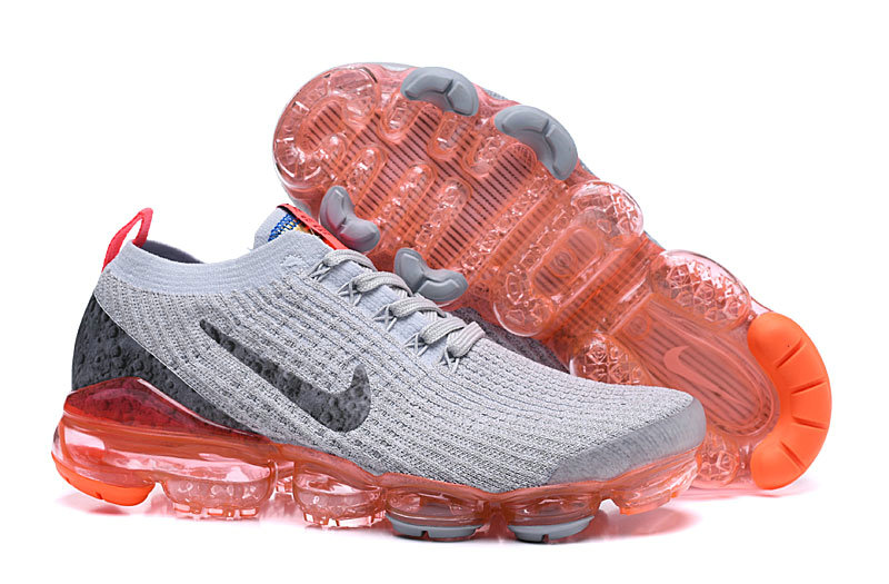 Cheap Nike Air VaporMax 3.0 Bright Mango Pure Platinum-Black-White-Metallic Silver AJ6900-800 On VaporMaxRunning