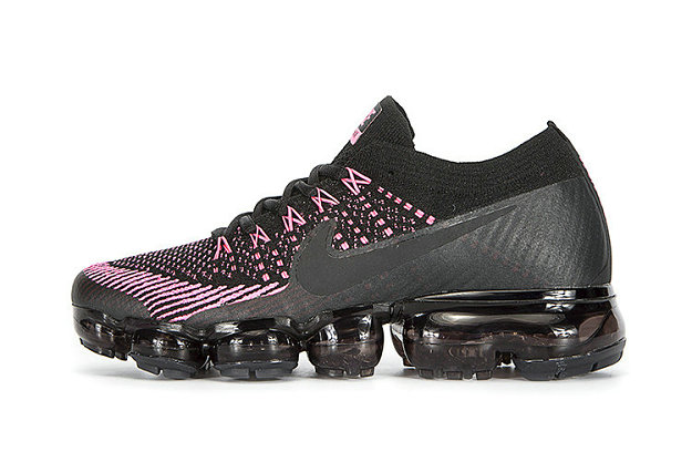 Cheap Nike Air VaporMax Colorways For Womens Pink Black On VaporMaxRunning