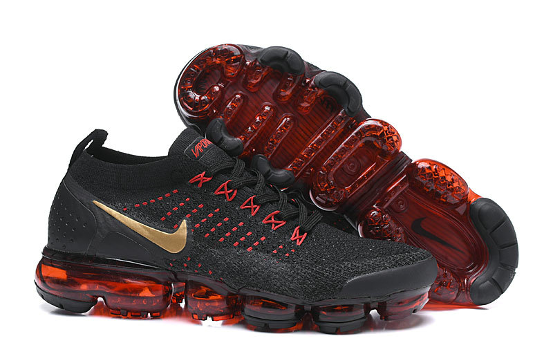 Cheap Nike Air VaporMax Flyknit 2.0 Chinese New Year Black Red BQ7036-001 On VaporMaxRunning