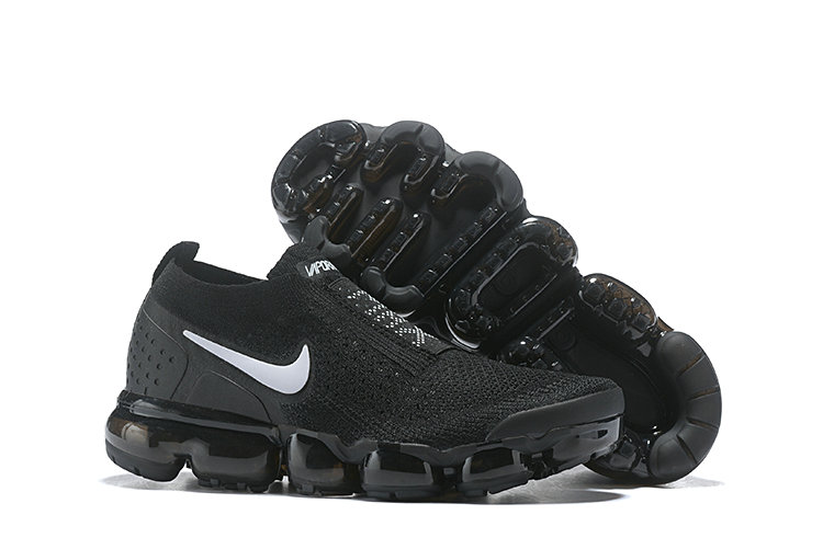 Cheap Nike Air VaporMax Flyknit 2.0 Womens Shoes Black White