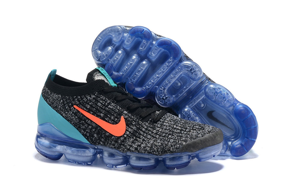 buy online 3f0e5 4892f Cheap Nike Air VaporMax Flyknit 3.0 Orange Jade Black Grey On  VaporMaxRunning