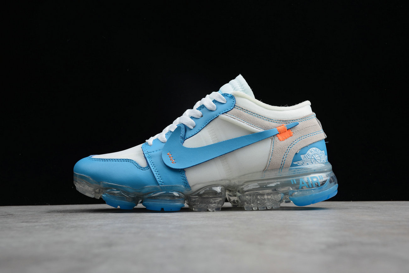Cheap Nike Air VaporMax Jordan 1 White Sky Blue Blanc