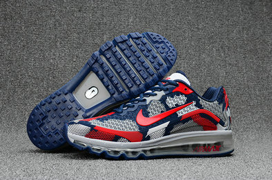 Cheap Nike AirMax 2017 Mens Red Grey Blue On VaporMaxRunning