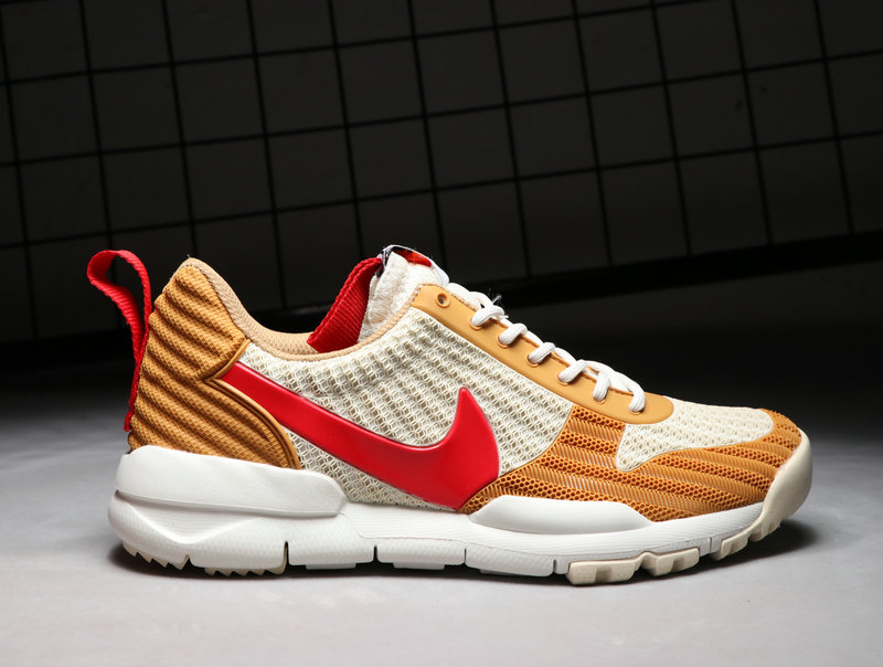 Cheap Nike Craft Mars Yard TS NASA 2.0 Gold White Red On VaporMaxRunning