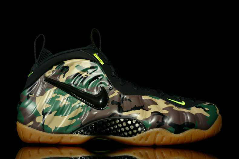 Cheap Nike Foamposite Pro Army On VaporMaxRunning
