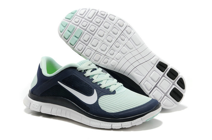 Cheap Nike Free 4.0 V3 Womens Dark Blue White On VaporMaxRunning