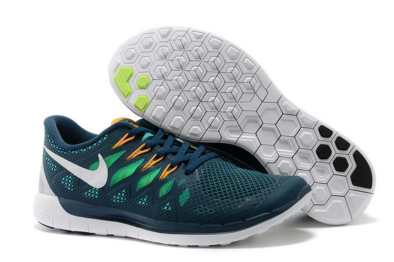 Cheap Nike Free 5.0 2014 Orange Grass Green White On VaporMaxRunning